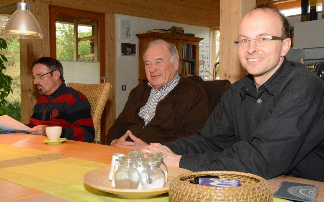 Interview Termin der Vertrauenspersonen des Begehrens mit dem Gießener Anzeiger und der Gießener Allgemeinen