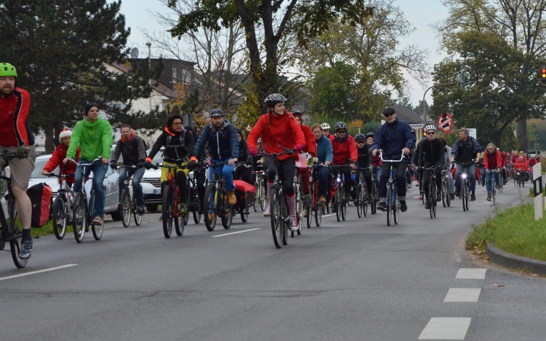 Aufruf zum Fahrradcorso zur Unterschriftenabgabe am 10.04.2018 17:00Uhr