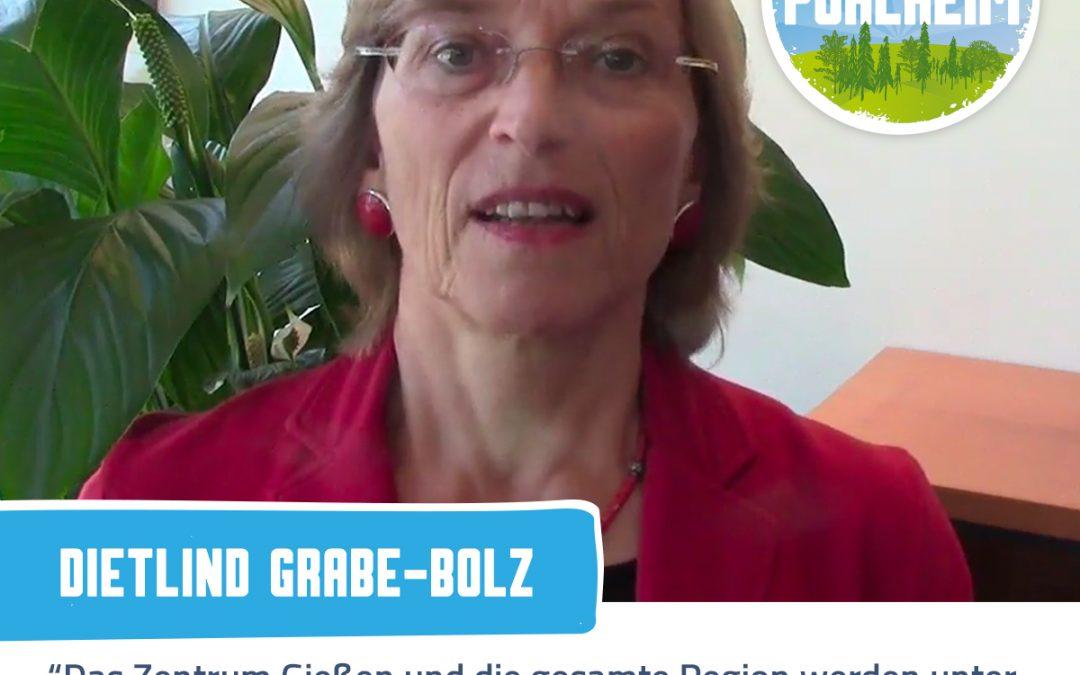 Video Statement von der Gießener Oberbürgermeisterin Dietlind Grabe-Bolz