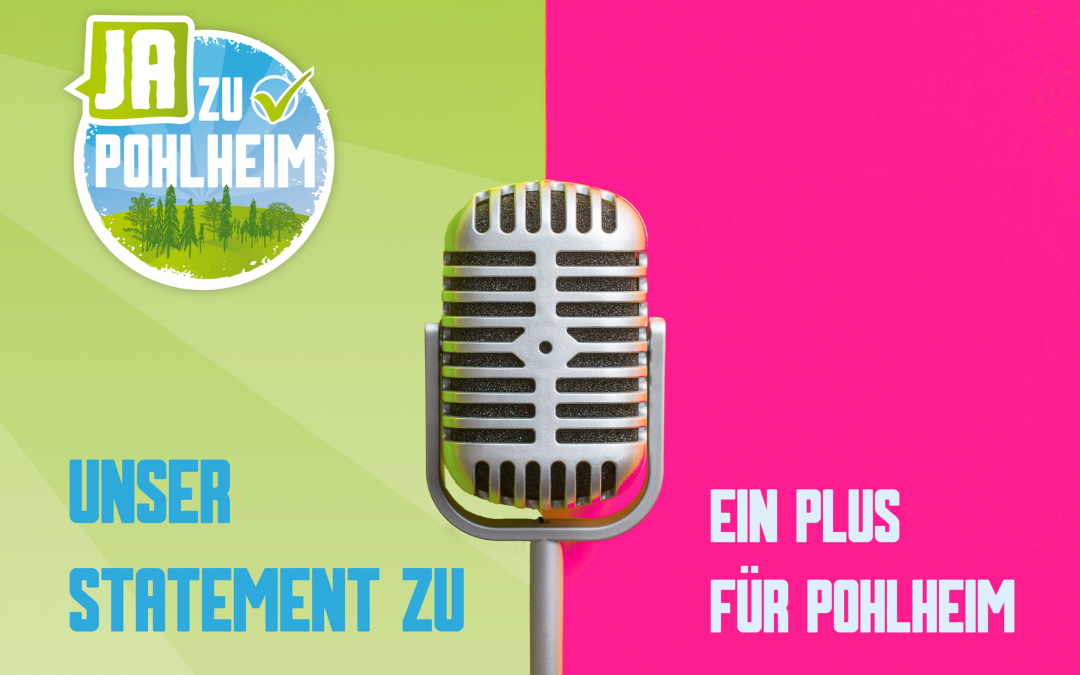 """Statement zu """"Ein Plus für Pohlheim"""""""